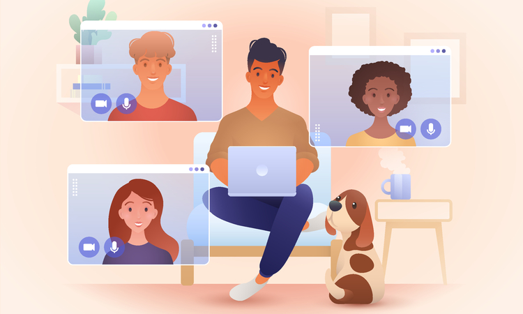 """テレワーク時のコミュニケーションで重要なのは""""雑談""""。オフィスと同等の環境をつくるためのコツとは"""