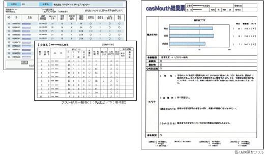 casMouth(採用適性テスト) マネジメント サービス センター/適性検査・能力テスト)|