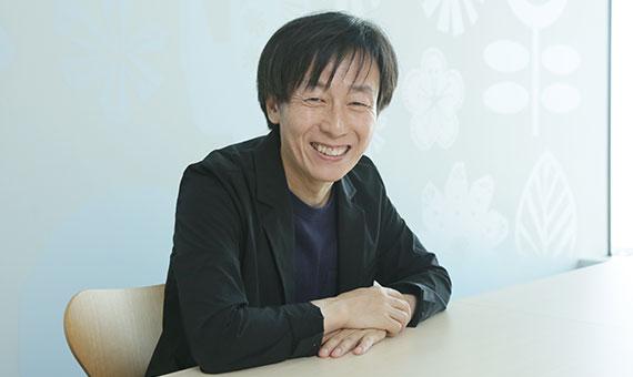 青野慶久 氏